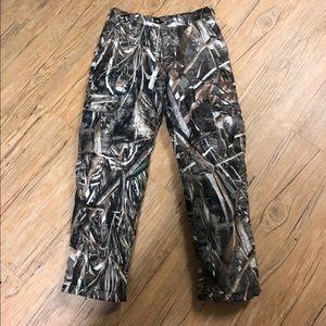 Boys drake lined Camo pants